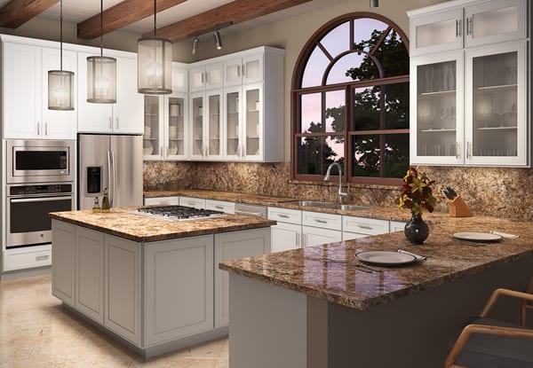 Bedford AlpineWhite Kitchen
