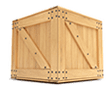Free delivery crate icon