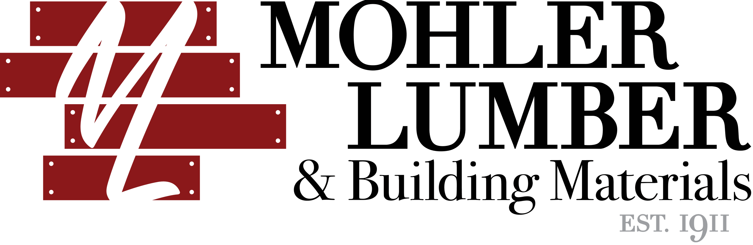 Mohler Lumber & Building Materials new logo